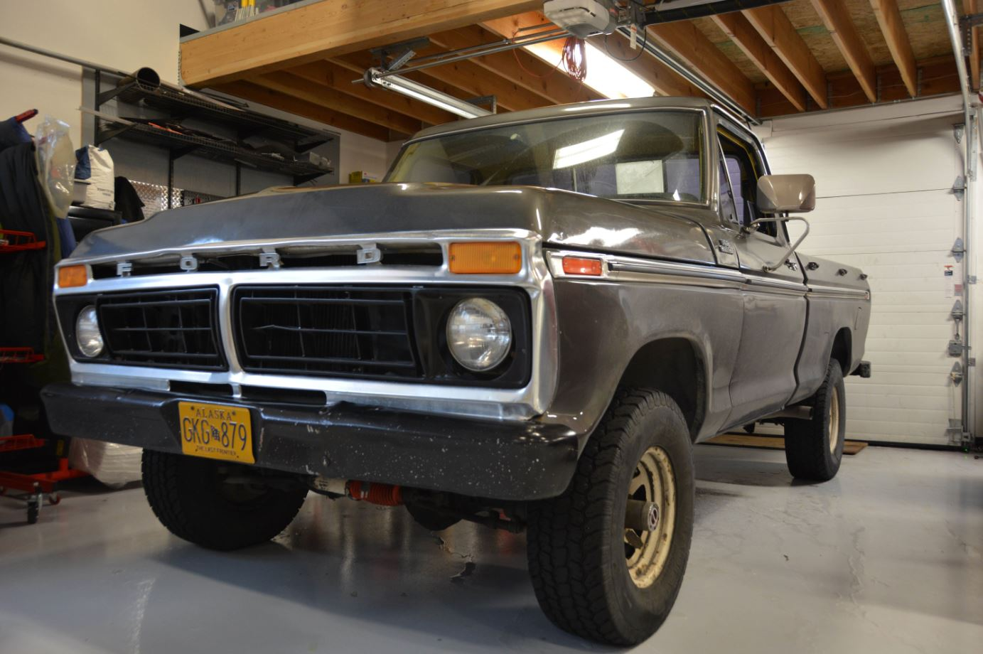 16 Year Old Built His Dream Truck 1977 Ford F150 2.jpg