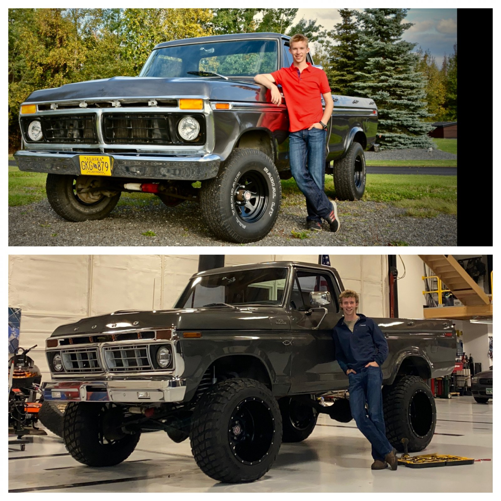 16 Year Old Built His Dream Truck 1977 Ford F150 6.jpeg