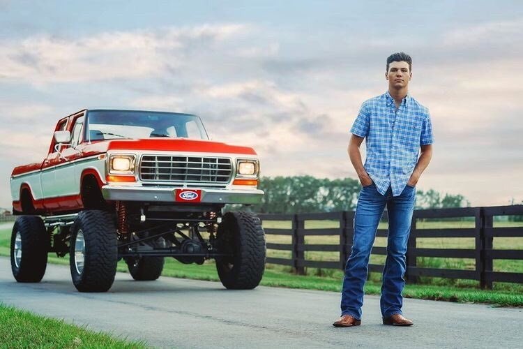 17 Year Old Built His Dream Truck 1977 Ford F250 Crew Cab 7.3L 2.jpg