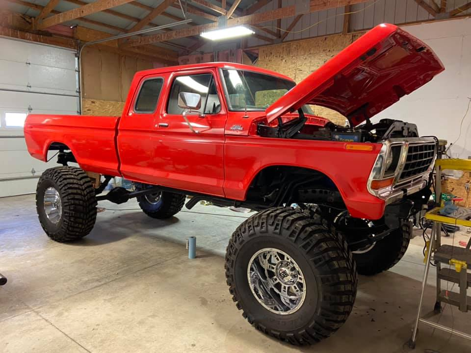 17 Year Old Built His Dream Truck 1978 Ford F250 5.jpg