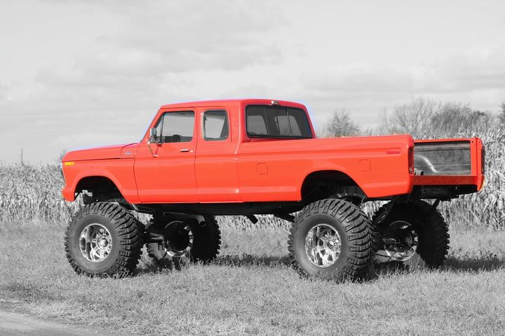 17 Year Old Built His Dream Truck 1978 Ford F250 SuperCab 2.jpg