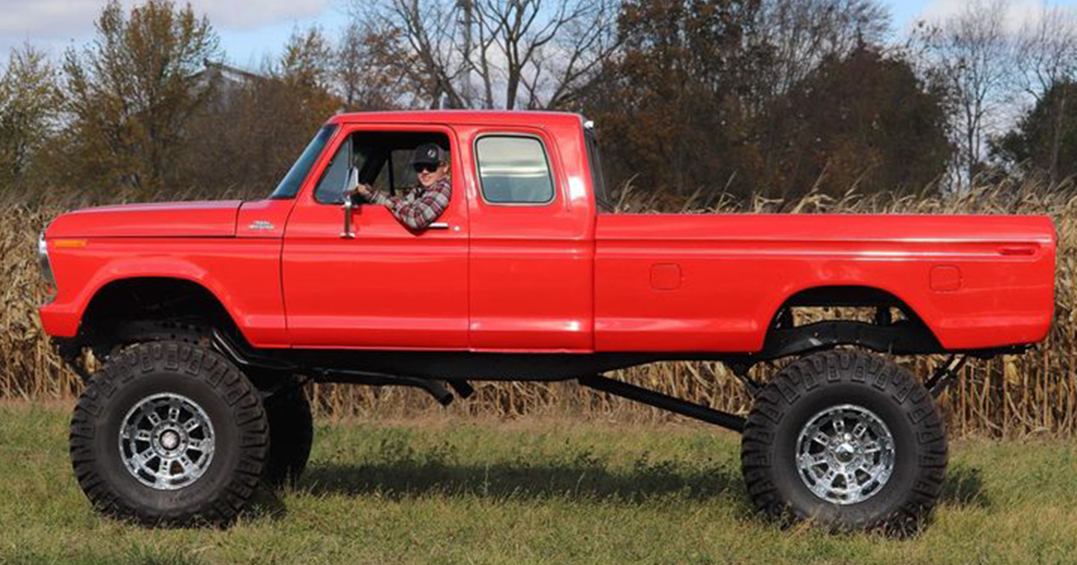 17 Year Old Built His Dream Truck 1978 Ford F250 SuperCab.jpg