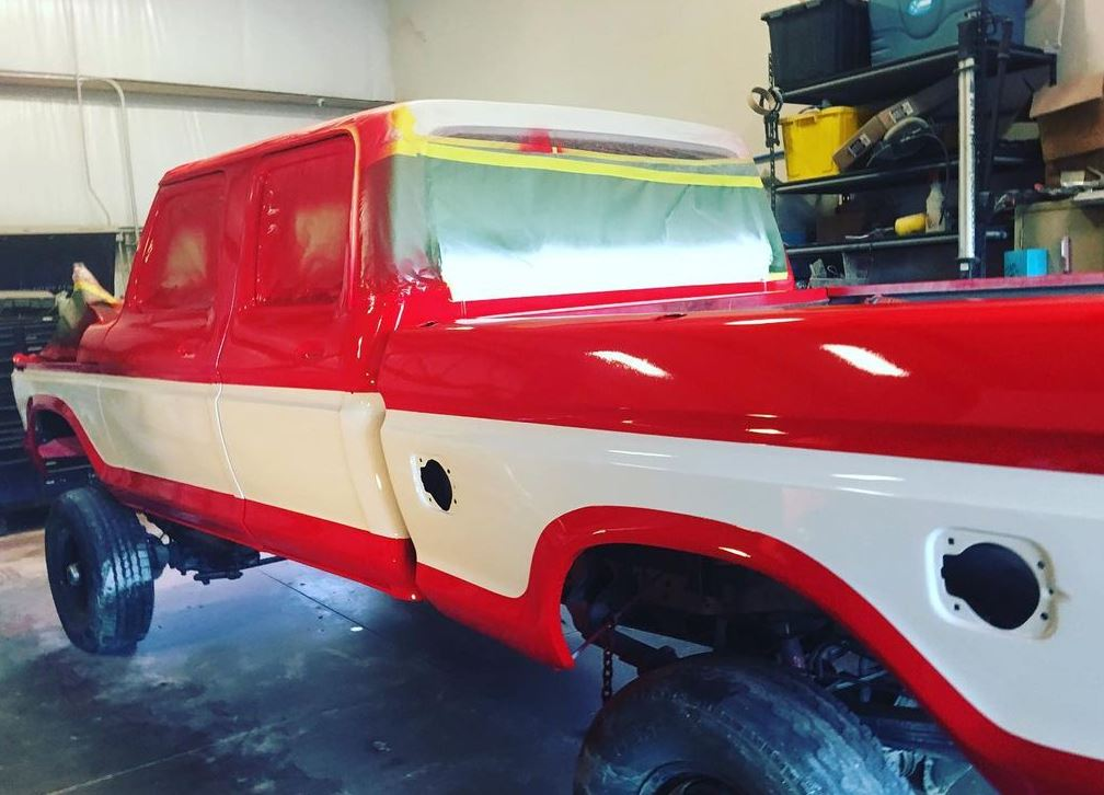 17 Year Old Built His Dream Truck F250 Crew Cab 7.3L Diesel 6.JPG