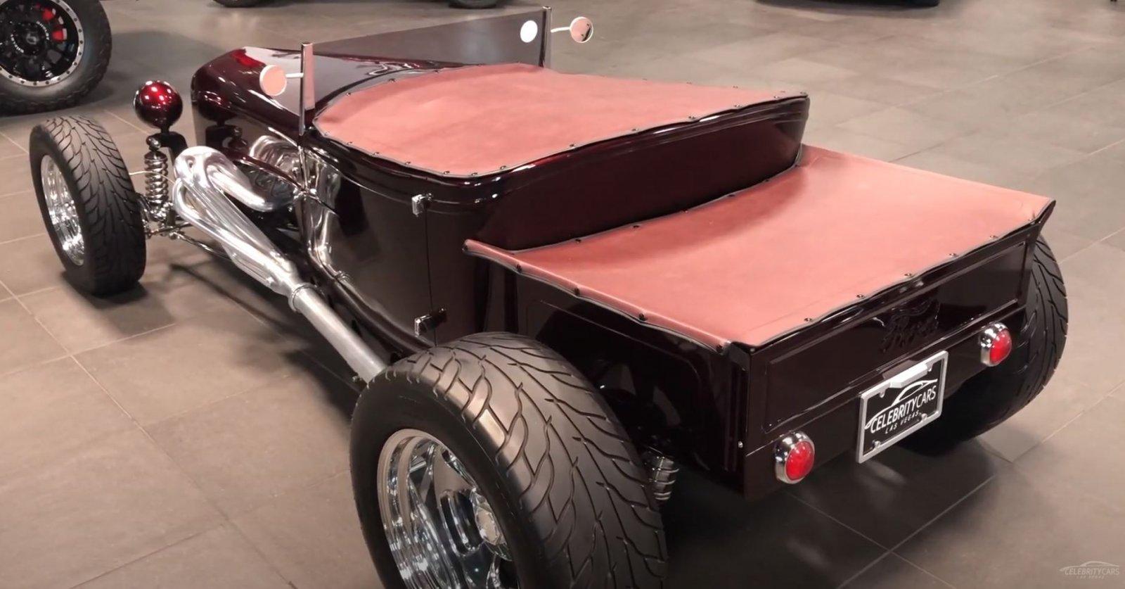 1930 Ford Model A Custom 525HP Burgundy For Sale 5.JPG