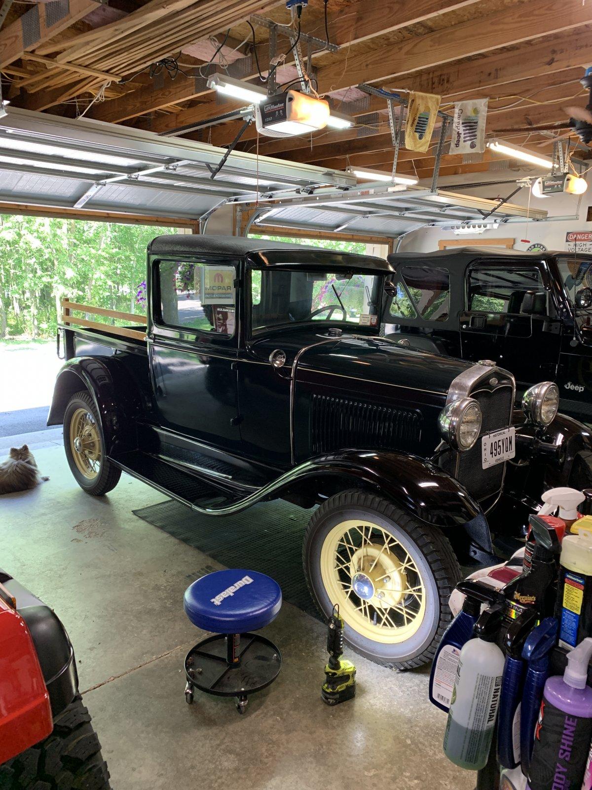 1931 Ford Model A Truck (Video) 4.JPG