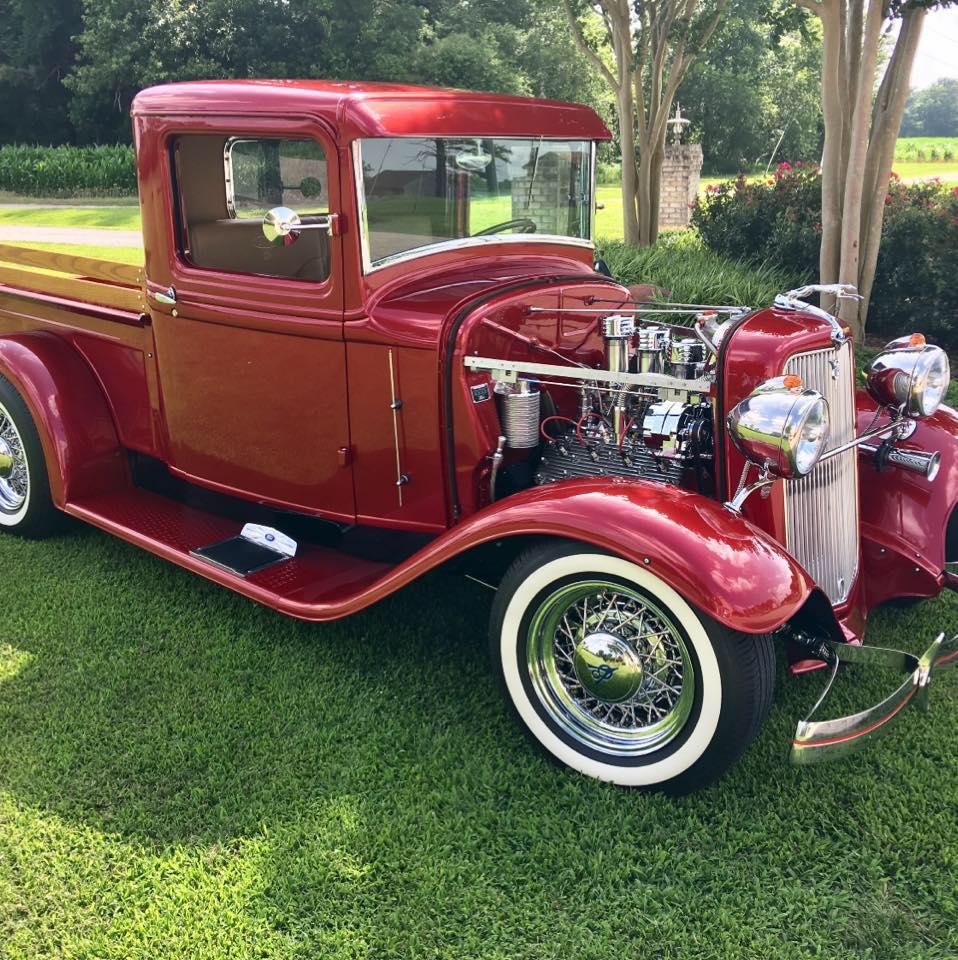 1934 Flathead Engine With Full Race Cam 3 Carbs 2.jpg