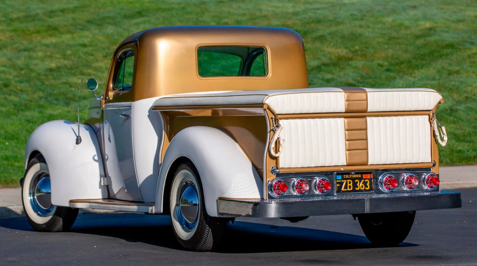 1937 Ford Freighter Pickup Truck Gold Pearl 9.JPG
