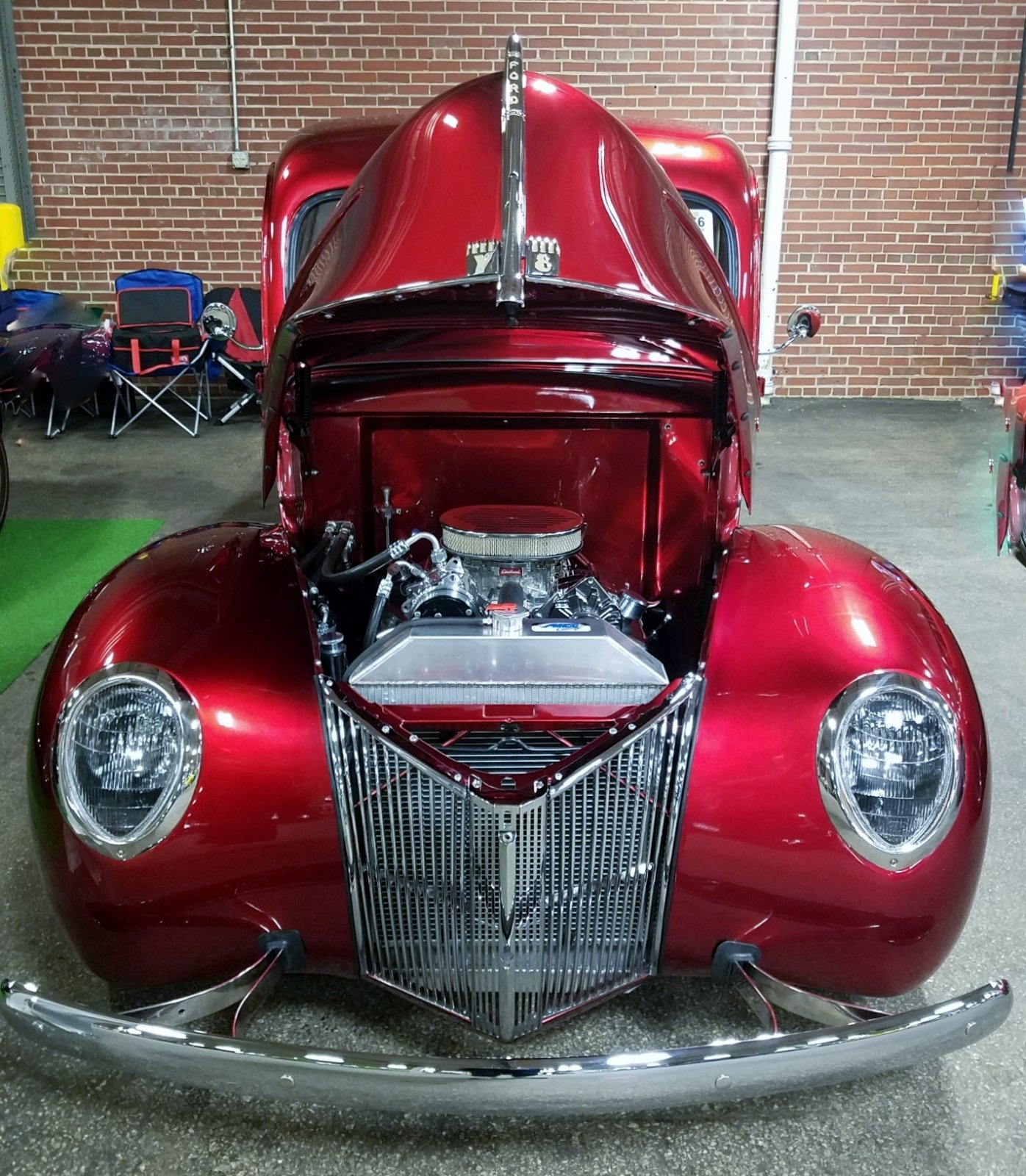 1940 Ford Pickup Truck Candy Apple 8