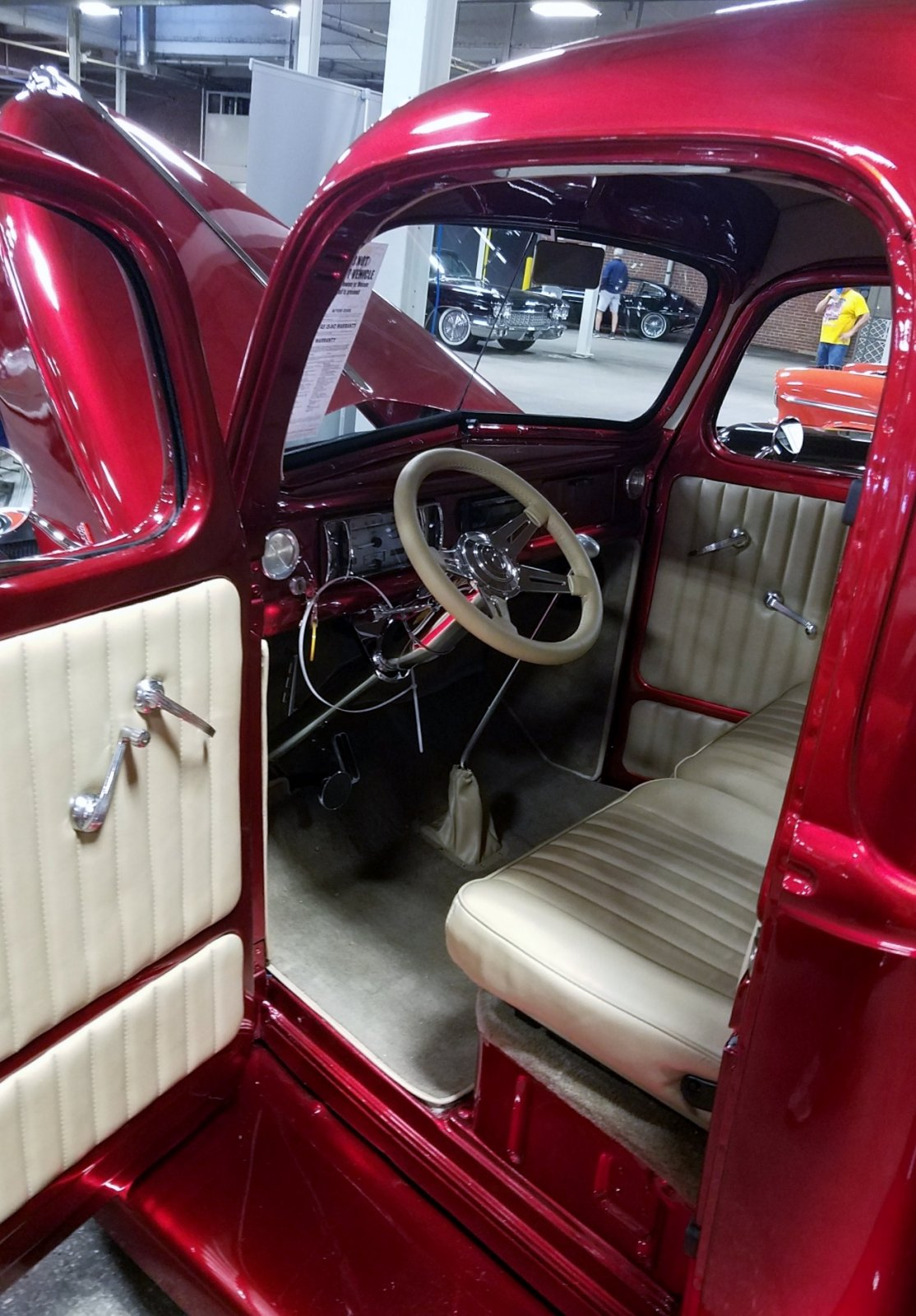 1940 Ford Pickup Truck Candy Apple Red 6.jpg