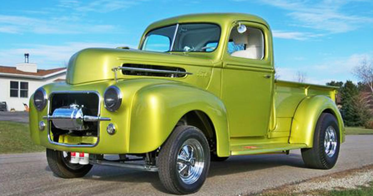 1947 Ford Gasser Truck 347 Stroker Lime Gold.jpg
