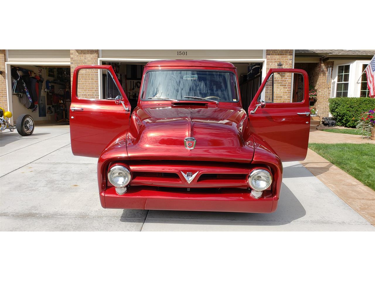 1953 Ford F100 Pickup Candy Apple Red 3.jpg