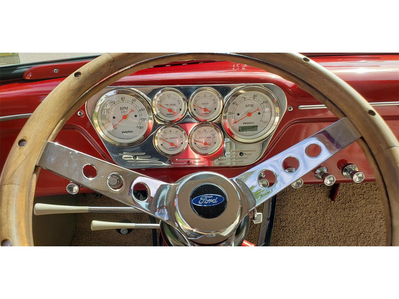 1953 Ford F100 Pickup Candy Apple Red 6.jpg