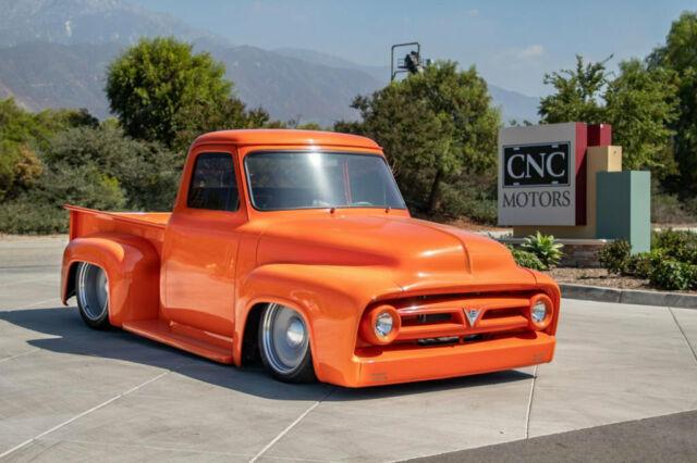 1953 Ford F100 Pickup Truck Orange 5.jpg