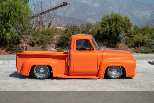 1953 Ford F100 Pickup Truck Orange 6.jpg