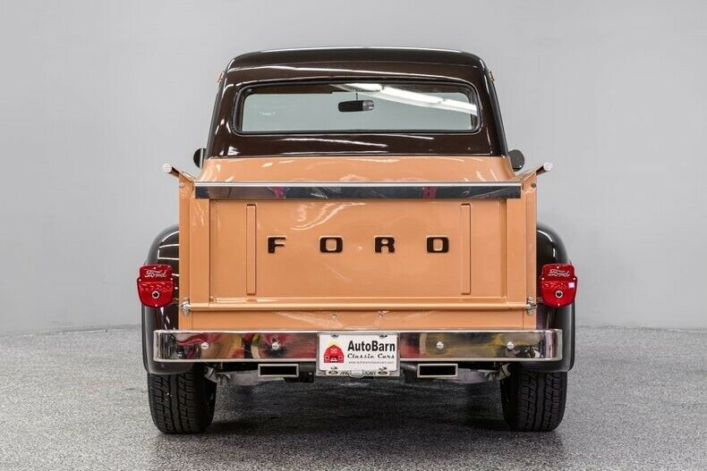 1954 Ford F-100 Dark Brown Bronze Pickup Truck 3.jpg