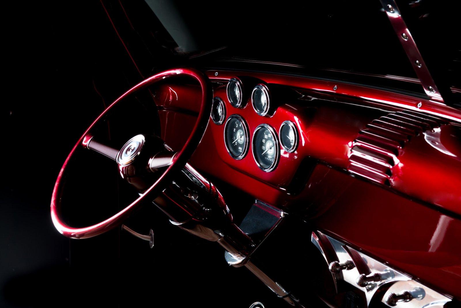 1955 Ford F-100 Story About Truck Owner Duke's Garage 3.JPG