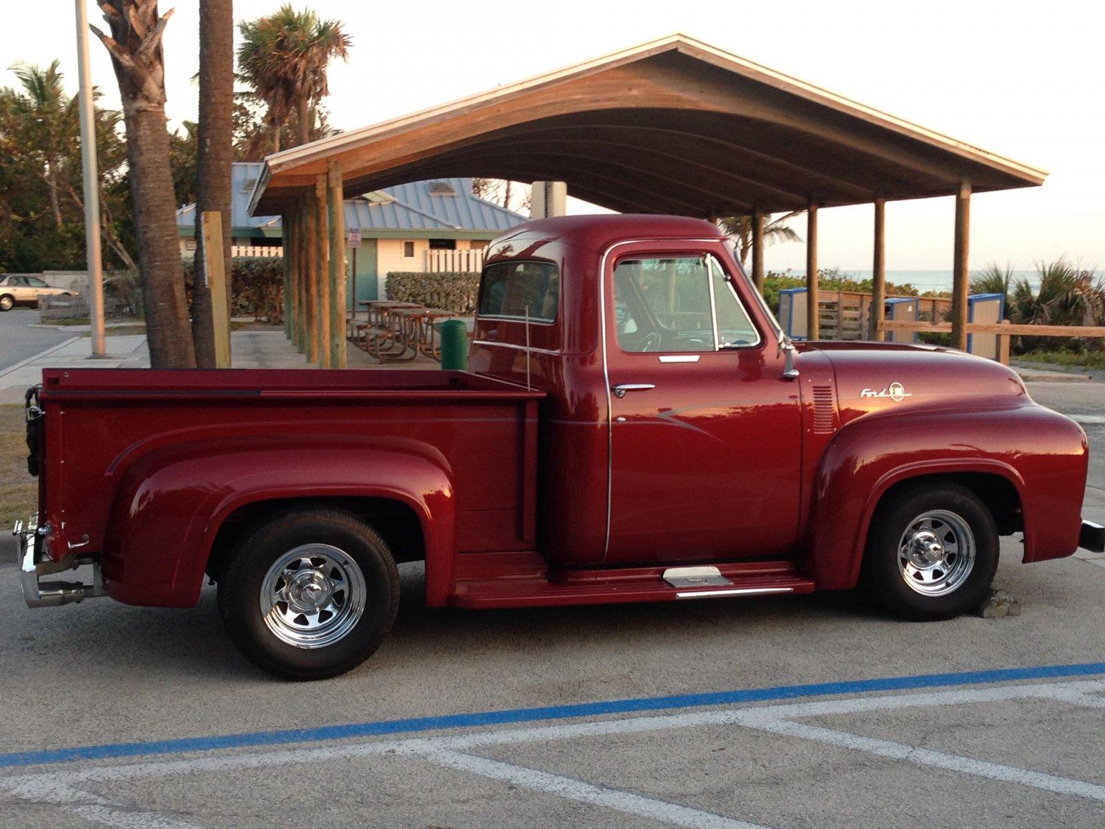 1955 Ford F100 Pickup Truck Crate 300 HP 5.jpg