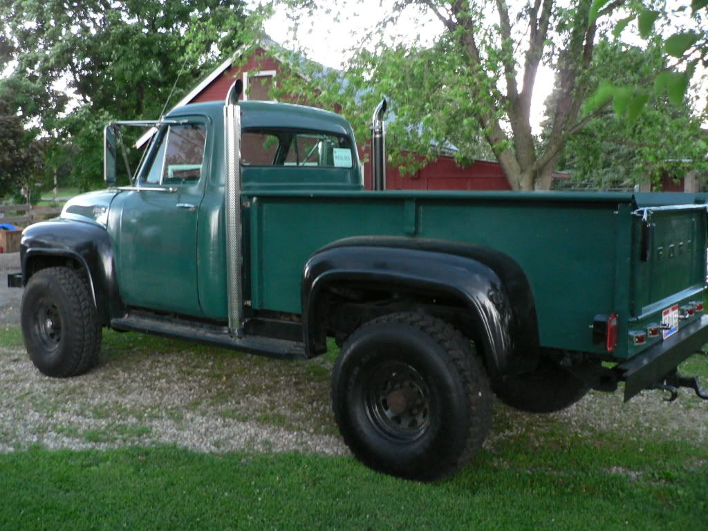 1955 Ford F250 Long Bed With a 6.9L Diesel 4x4 4.jpg