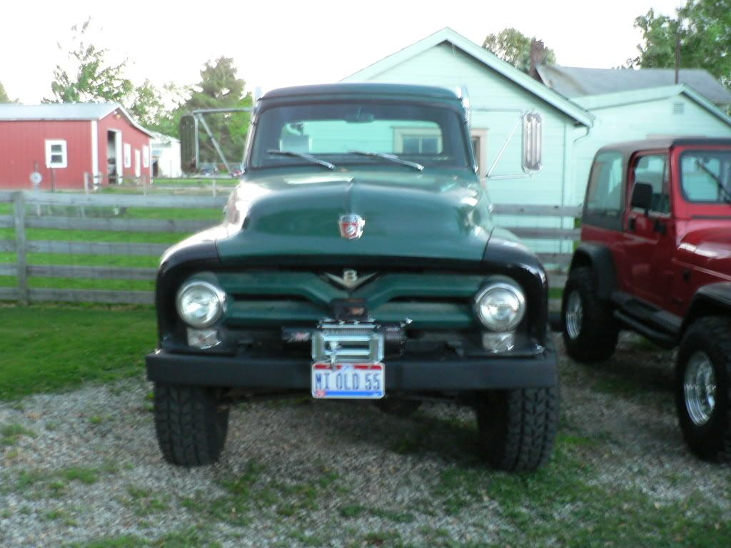 1955 Ford F250 Long Bed With a 6.9L Diesel 4x4 5.jpg