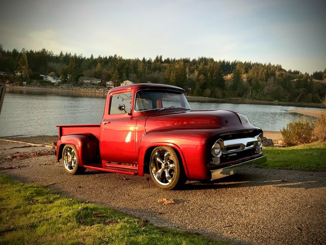1956 Ford F100 Pickup Truck Candy Apple Red 2.jpg