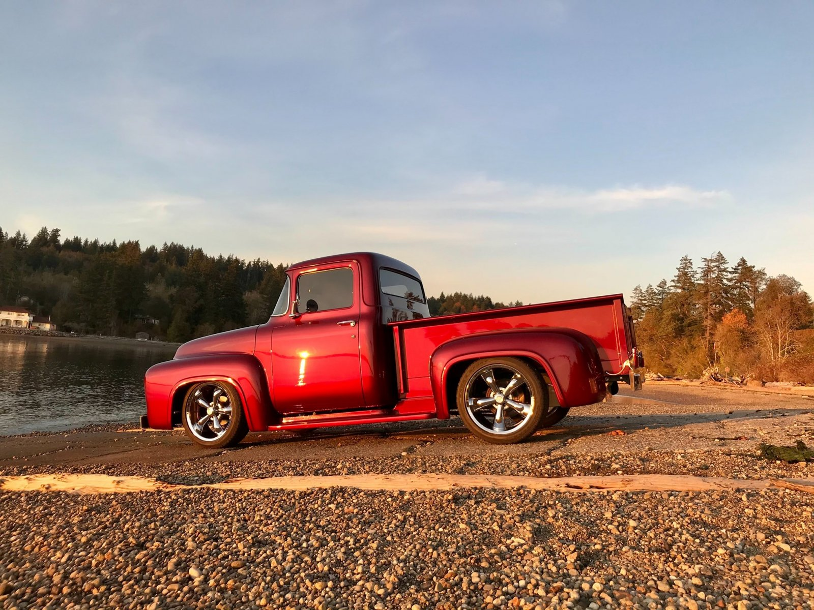 1956 Ford F100 Pickup Truck Candy Apple Red 3.jpg