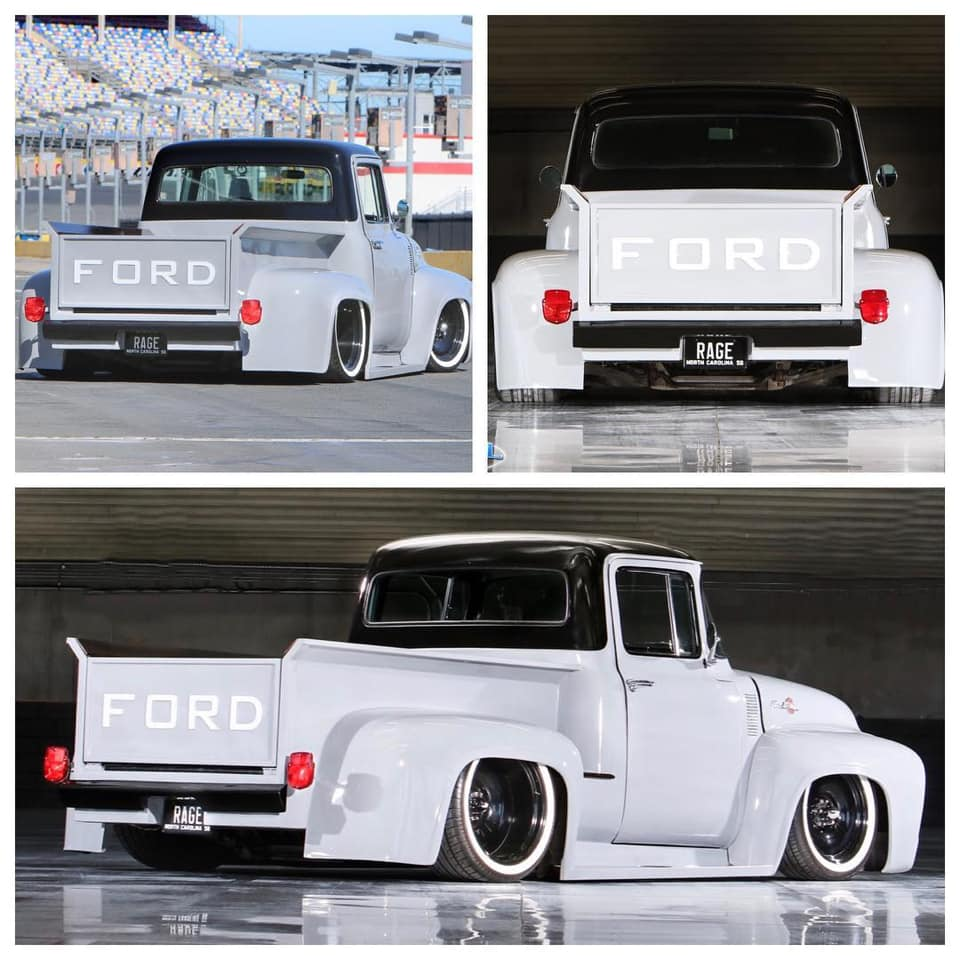 1956 FORD F100 PICKUP TRUCK ROAD RAGE 5 FordDaily.net