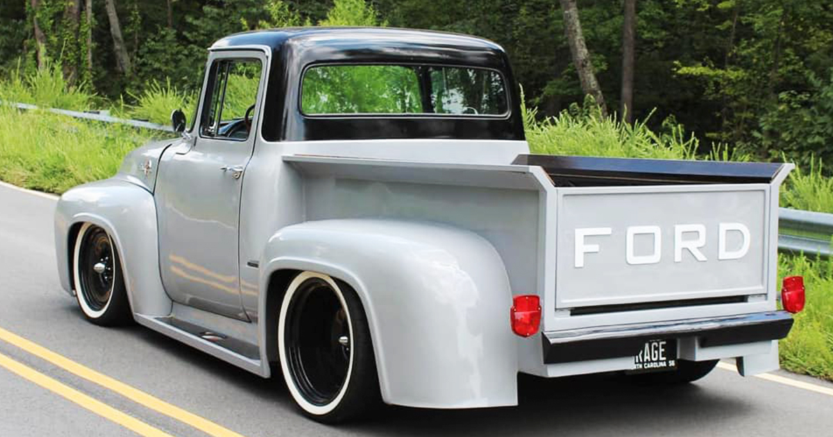 1956 FORD F-100 PICKUP TRUCK ROAD RAGE FordDaily.net