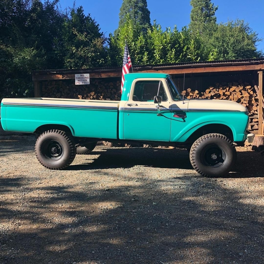 1960s Ford F250 Out For a Drive To Get The Christmas Tree 10.jpg