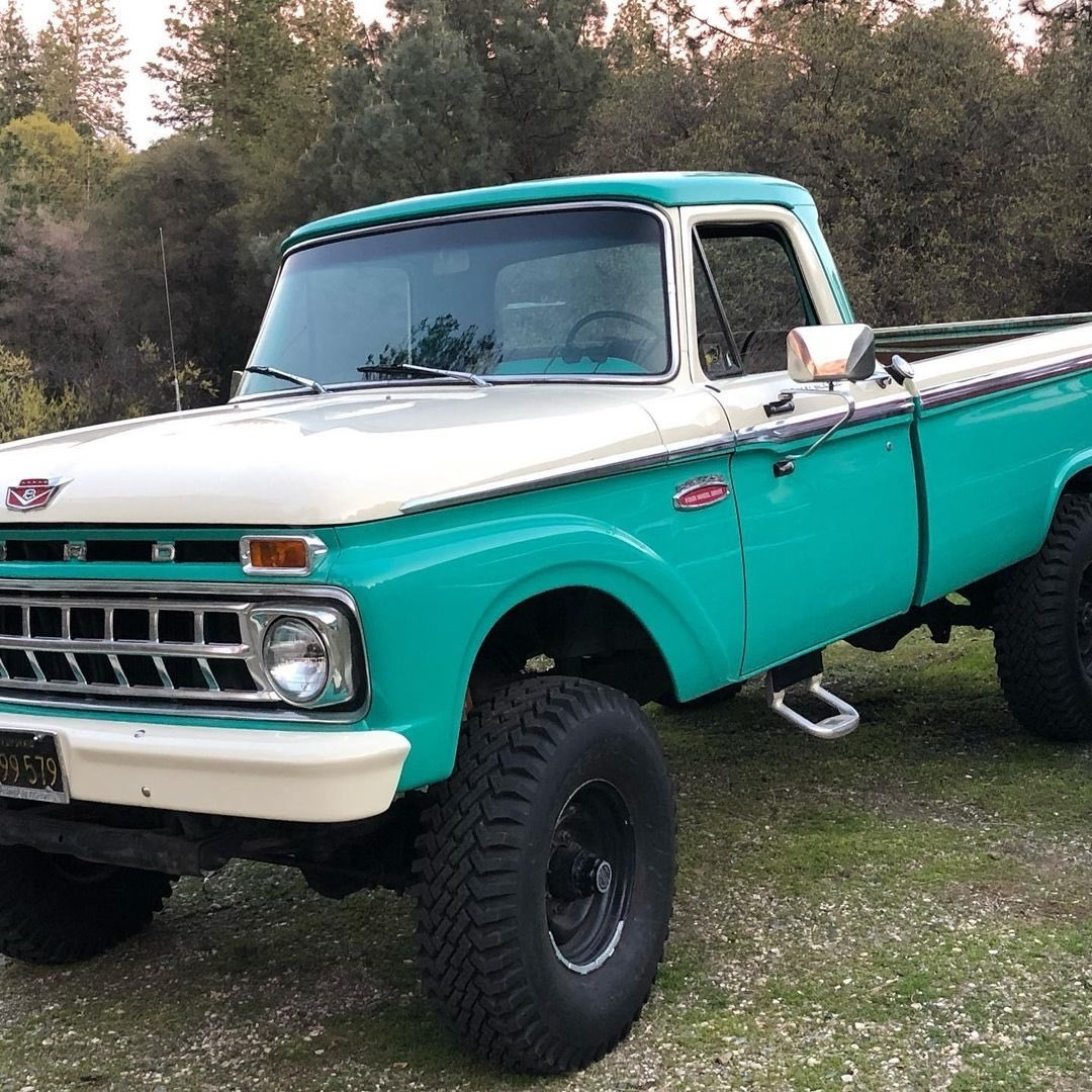 1960s Ford F250 Out For a Drive To Get The Christmas Tree 11.jpg