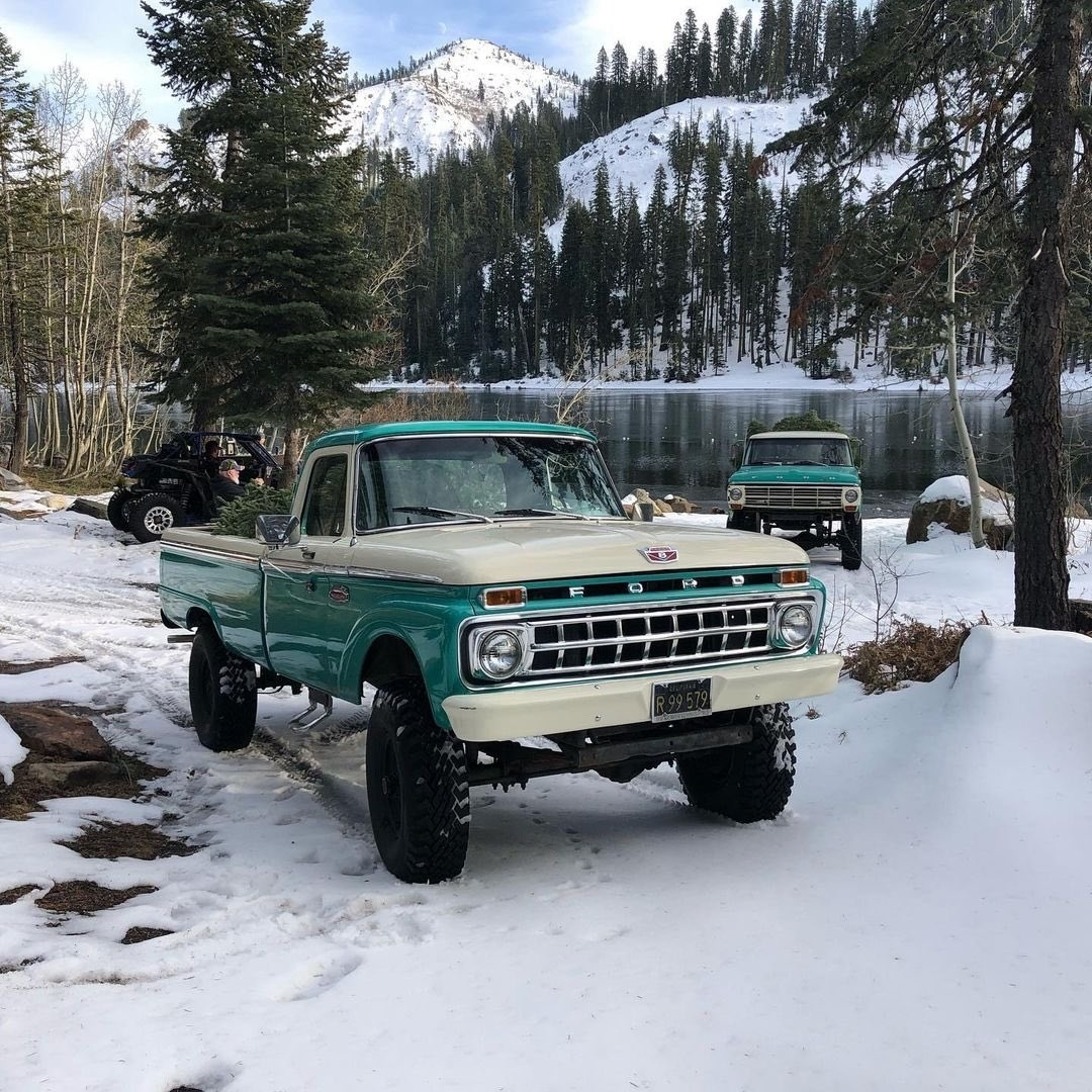 1960s Ford F250 Out For a Drive To Get The Christmas Tree 3.jpg