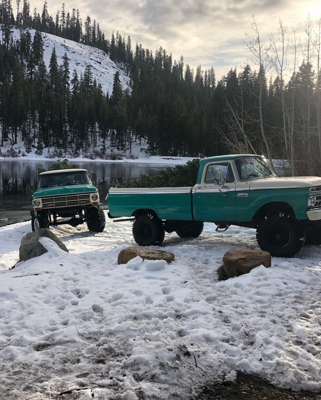 1960s Ford F250 Out For a Drive To Get The Christmas Tree 4.jpg