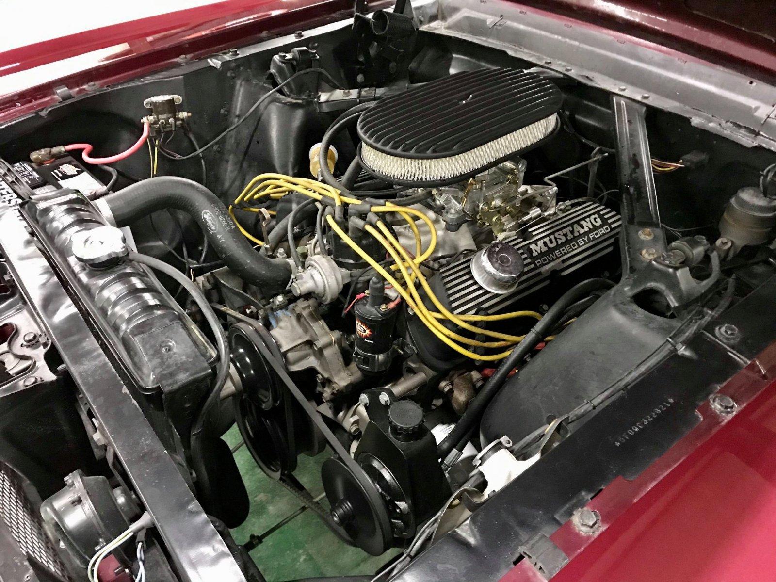 1965 FORD MUSTANG FASTBACK 289 V8 VINTAGE BURGUNDY 5.jpg