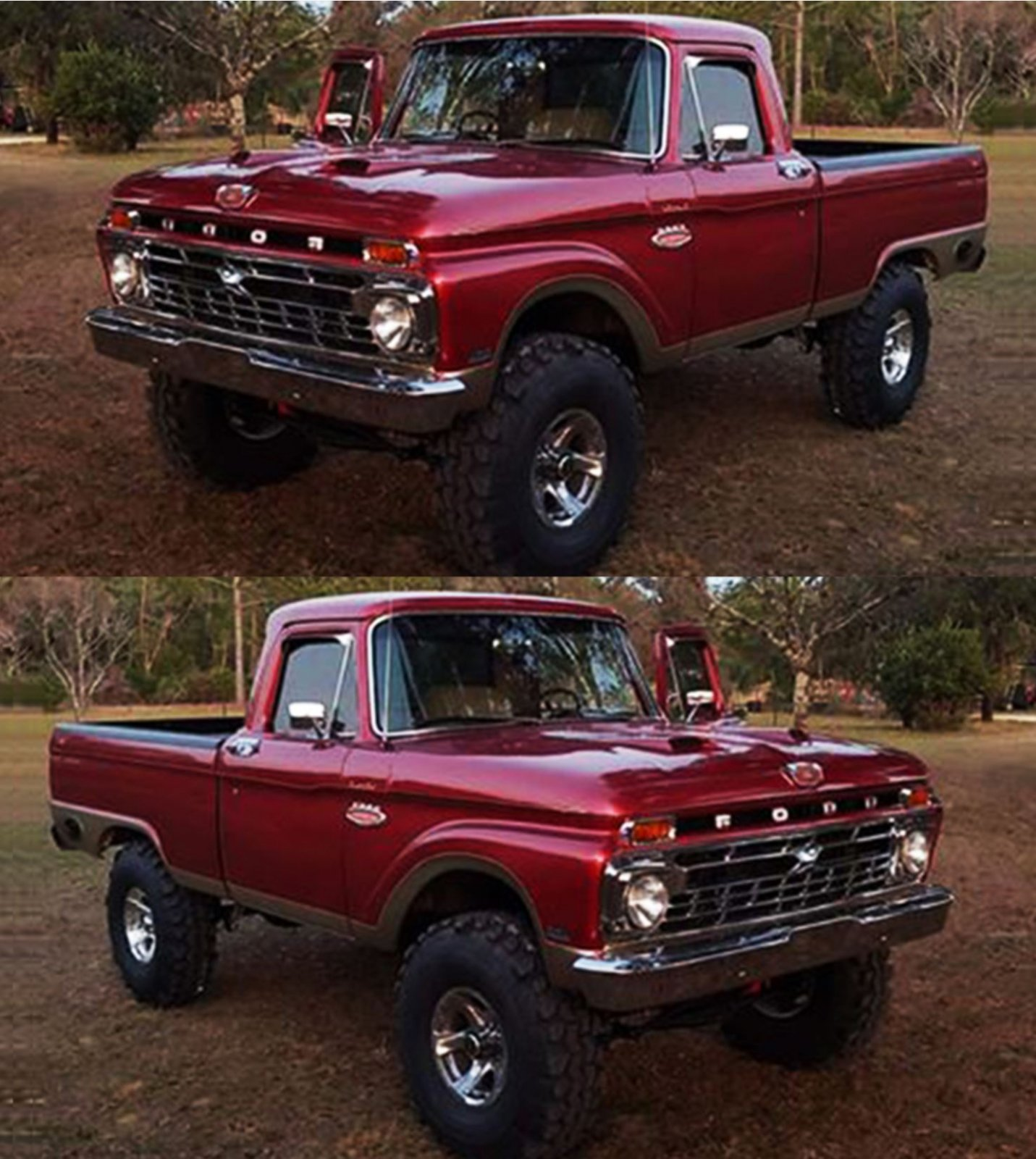 1966 Ford F100 With a 351 4x4 On Swampers 2.JPG