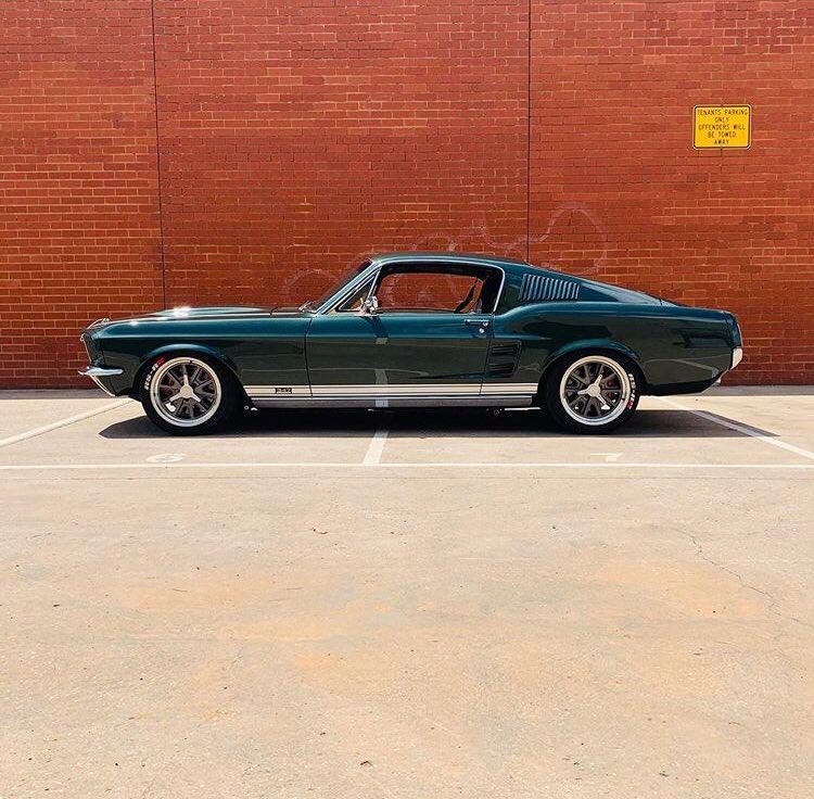 1967 Ford Mustang Fastback Dark Moss Green 3.jpg