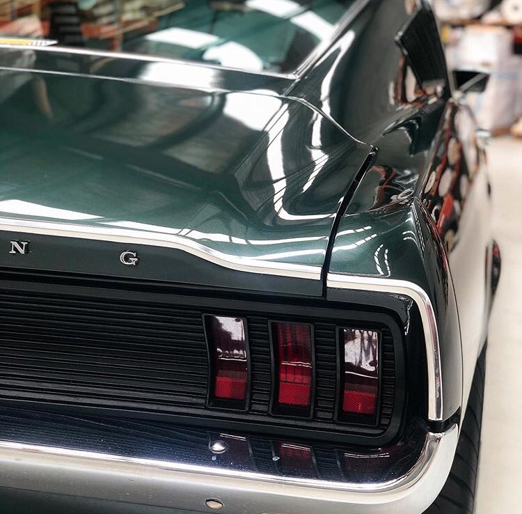 1967 Ford Mustang Fastback Dark Moss Green 7.jpg