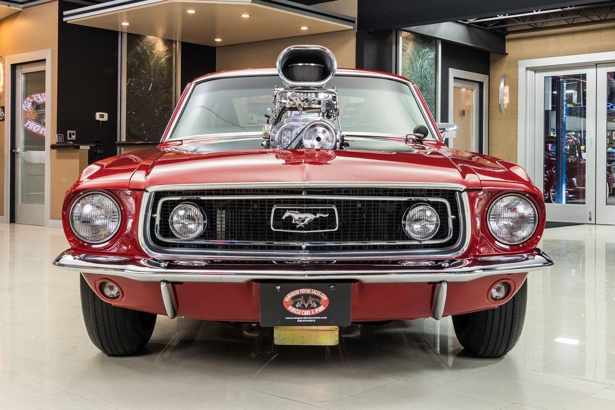 1968 Ford Mustang Fastback 514cid Blower 8-71 Supercharger 3.jpg