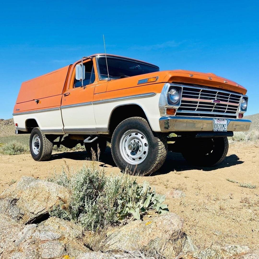 1969 Ford F250 Highboy Bumpside Two Tone 4x4 6.jpg