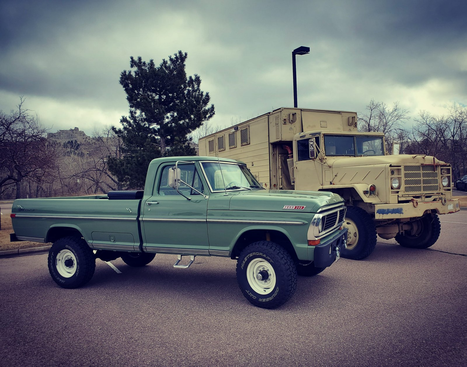 1970 Ford F-250 4x4 Powered By a 460 V8, Boxwood Green 8.jpg