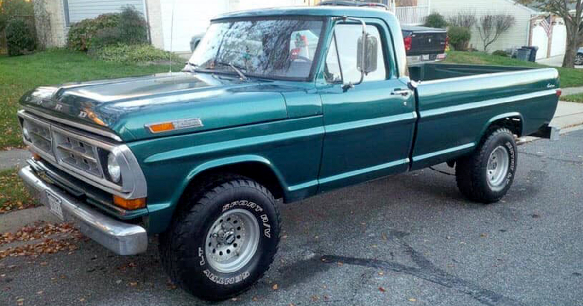 1971 Ford F-100 With A 5.0 302 V8.jpg