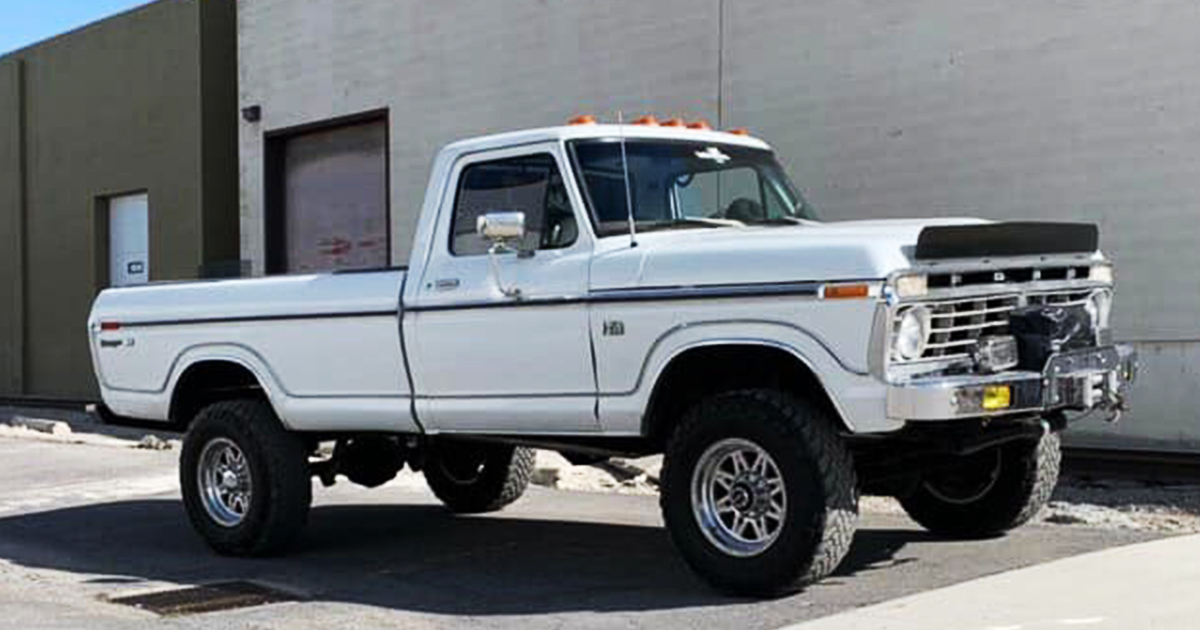 1974 Ford F-250 Ranger XLT Built a Very Healthy 390 www.FordDaily.net