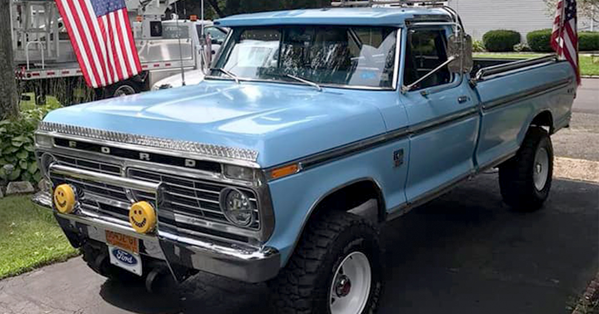 1974 Ford F250 360 V8 Story About Truck Owner Joe Oconnell.jpg