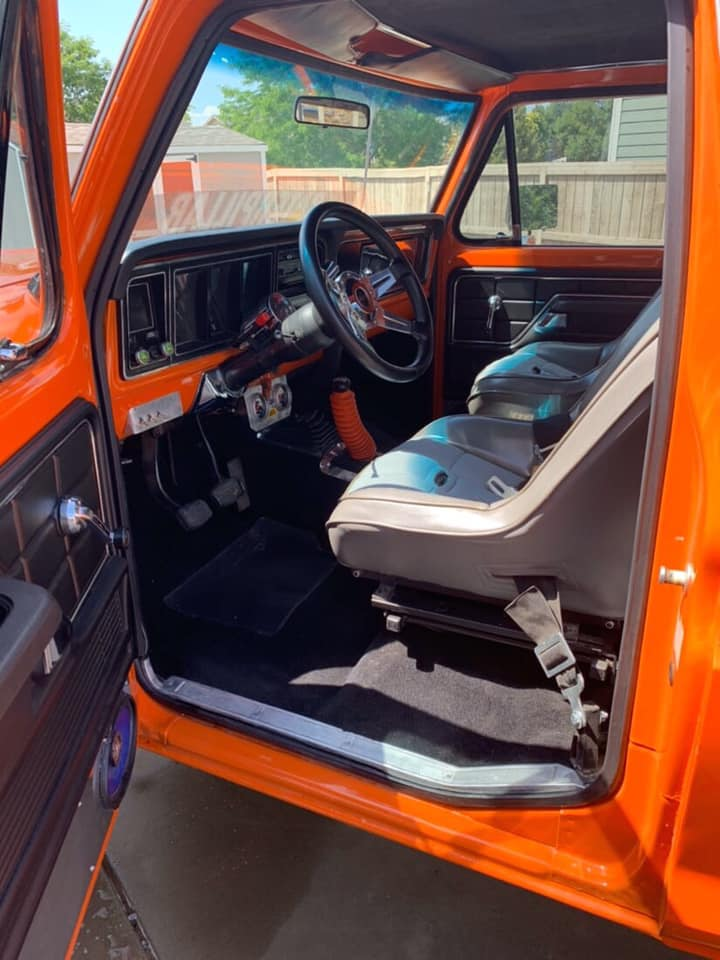 1975 F-250 Highboy Running 542 Big Block International Orange 3.jpg