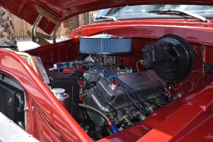 1978 Ford F-150 With a 429 ci Corvette Red paint 6.jpg