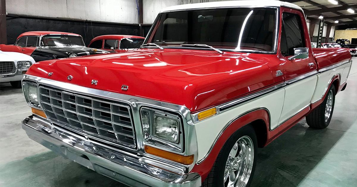 1978 Ford F100 Short-Wheelbase Pickup 351M V8 .jpg