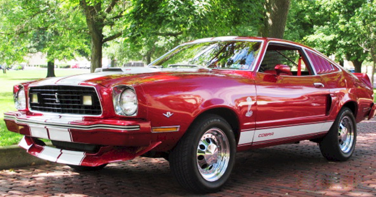 1978 Ford Mustang II Hatchback Red Fire.jpg