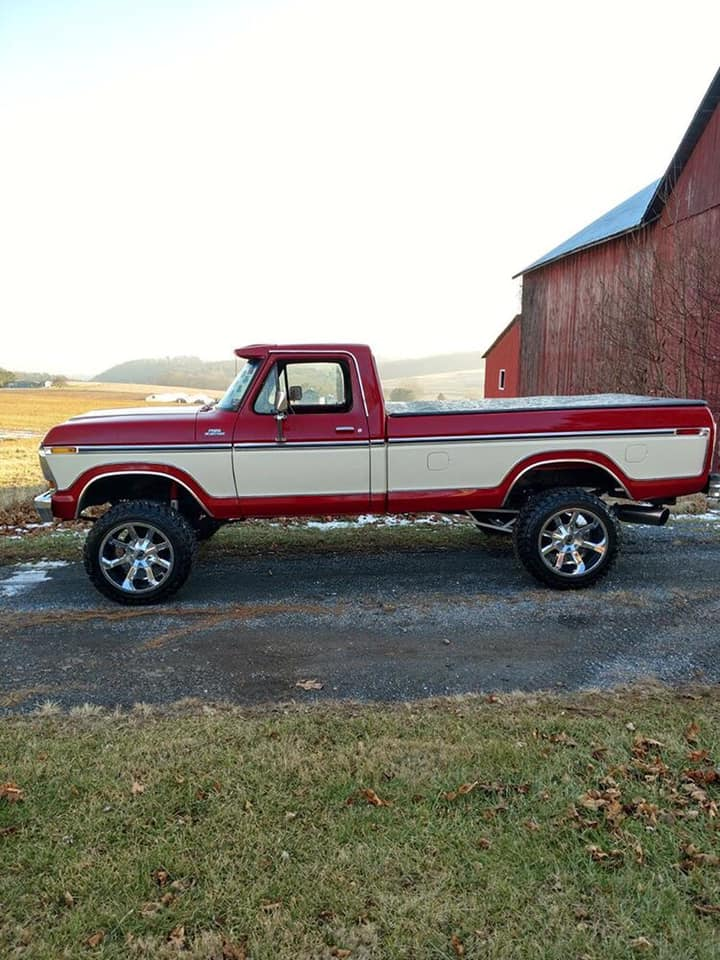 1979 F250 With A 7.3 Powerstroke 5 Speed Swap - Video Sound On! 2.jpg