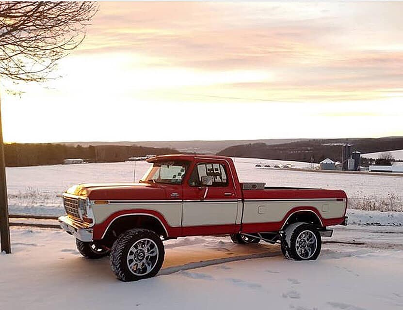 1979 F250 With A 7.3 Powerstroke 5 Speed Swap - Video Sound On! 6.jpg