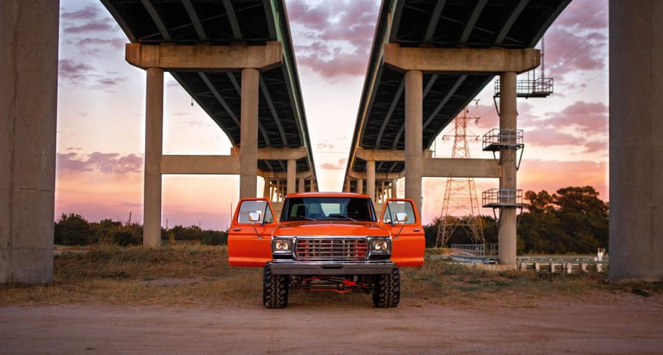 1979 Ford Bronco 460 Big Block Orange Crush www.FordDaily.net 2