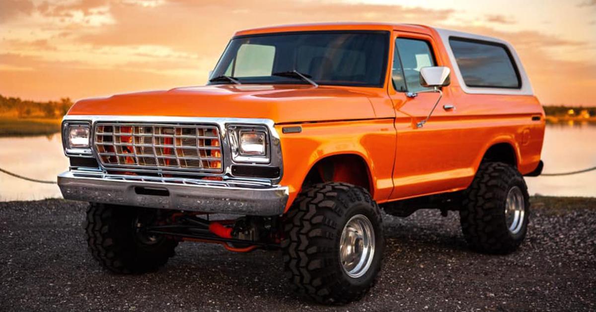 1979 Ford Bronco 460 Big Block Orange Crush www.FordDaily.net