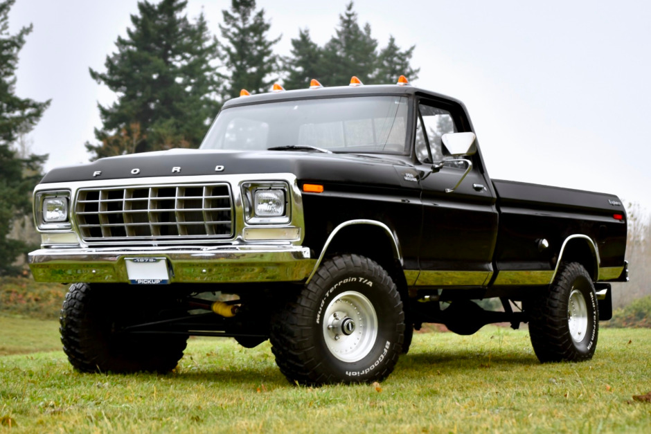 1979 Ford F150 Explorer 4×4 Color Black